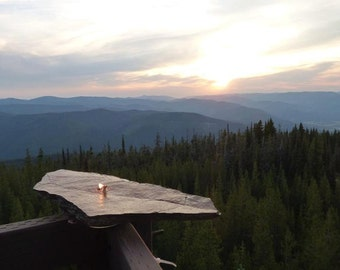 Oil Lamp Handmade Rock Candle