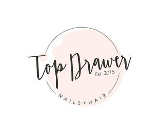 pre made nail salon logo spa logo design nail polish logo hair - Nail Salon Logo Design Ideas