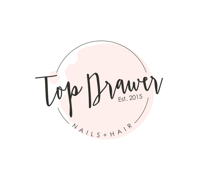 Hair stylist christmas ornaments - Pre Made Nail Salon Logo Spa Logo Design Nail Polish Logo Hair