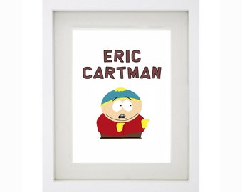 ERIC CARTMAN Framed Art Collection - South Park
