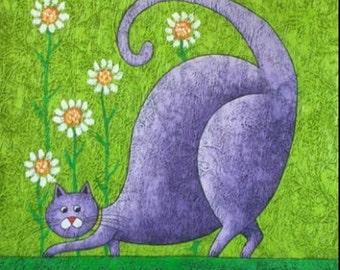 "Cross Stitch Pattern ""Cheerful cat"""