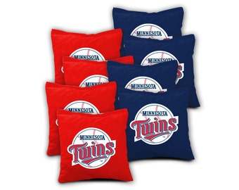 MINNESOTA TWINS Set of 8 ACA Regulation Cornhole Bags Bean Bag Toss