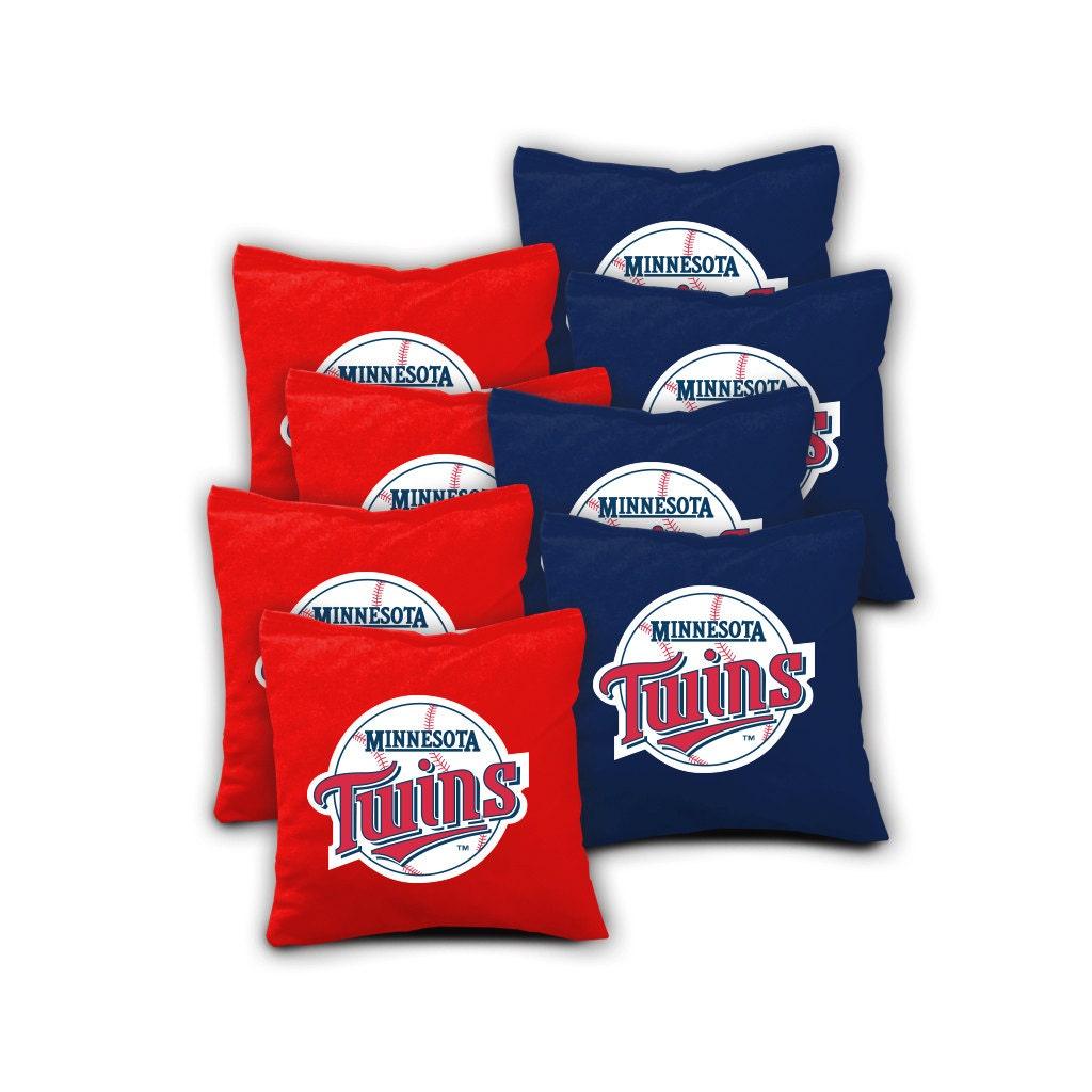 Minnesota Twins Set Of 8 Aca Regulation Cornhole Bags Bean Bag