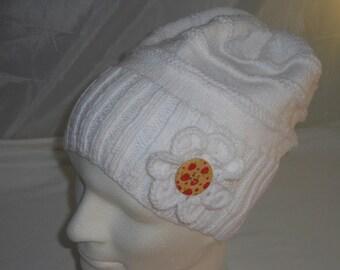 Beanie - Cap - Hat - KU 44-57 cm - Wollmäütze - Knit Beanie - handicraft - women's hats - winter hats - headwear