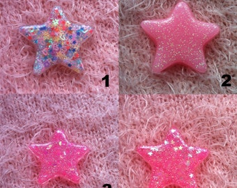 Large Resin Star Charm
