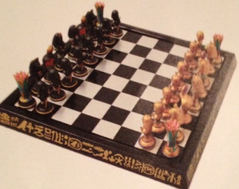 Exclusive Design of Egyptian Chess Set