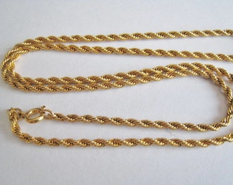 Gold Tone Chain Only