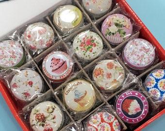 Design Tin Can-Flower Tin Can-Round Tin Can-Candy Tin Can-Lipgloss Tin Can-Tin Can-Tin Box
