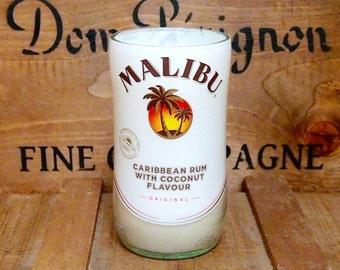 Upcycled Malibu Candle