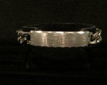 """Speidel ID Bracelet - CA 1960's - 8.5"""" - Engraved """"ERIC"""" - Item Id1"""