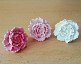 Peony Flower* Handmade Car vent clip, car air freshener, car interior, car accessory, car fragrance