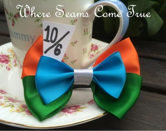 The Mad Hatter Hair Bow