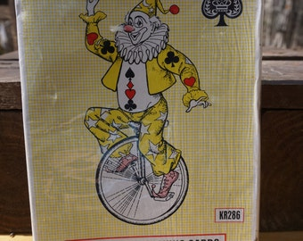 Vintage Giant Playing Cards,  Crown Brand Playing Cards