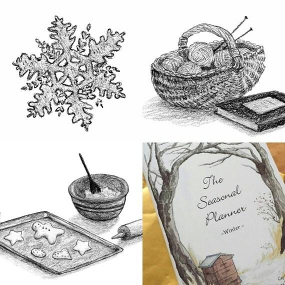 Winter Seasonal Planner