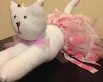 Sock cat. Sock animal. Sock creature. Purdetta the cat.