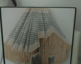 New Home Book Folding Pattern