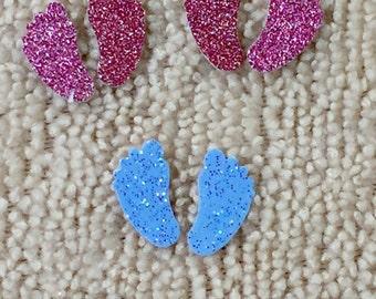 Glitter Baby Feet Confetti (pkg of 250)