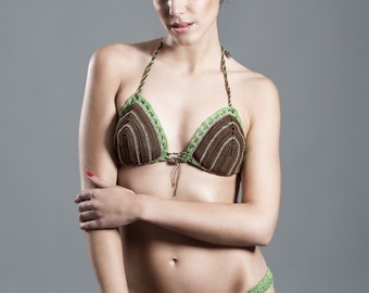 KirsiVa Crochet Bikini Bambú