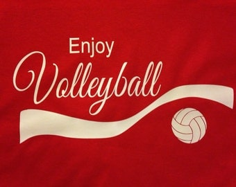 Enjoy Volleyball shirt