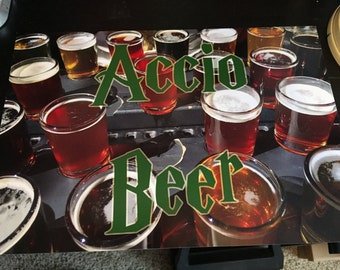 8in Accio Beer print