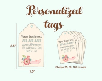 Personalized Business Tags