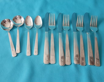 Vintage Set of Silverware from the Hilton 1960's