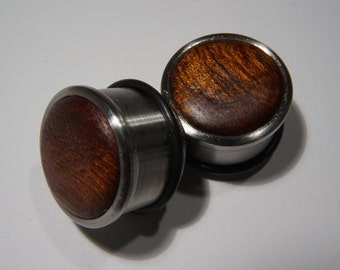 Mahogany plugs 20mm