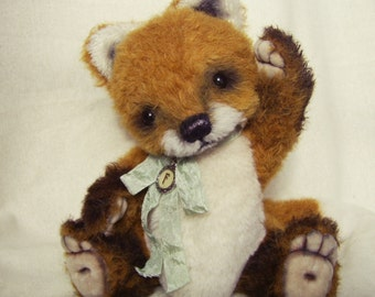 Schnittmuster Little Fox 23cm,Sofort Download, PDF, SimaBears