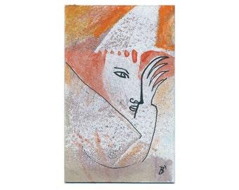 Image 15/9.2 cm portrait original sorcerers