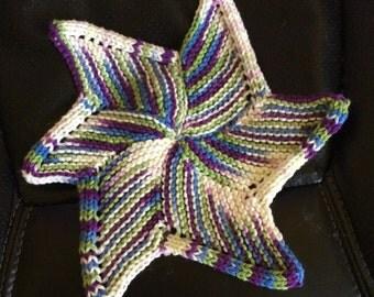 Star fish dishcloth