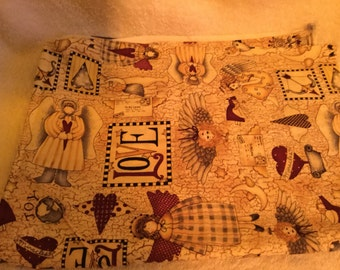 Debbie Mumm angel fabric 26 x 41