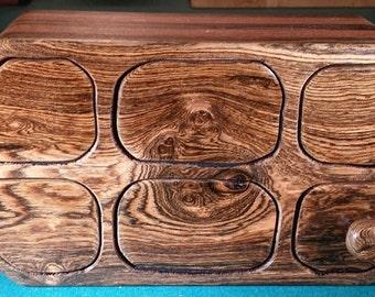 Bocote/Mahogany Bandsaw box