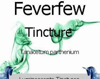 Feverfew Tincture - Tanacetum parthenium