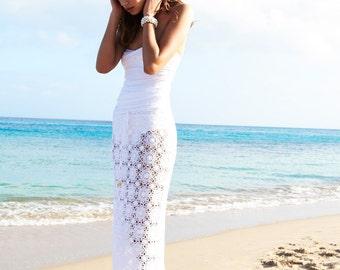 Crochet  maxi skirt PATTERN, detailed  tutorial for every row, trendy crochet skirt pattern,  skirt pattern