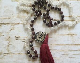 Capricorn Mala Necklace