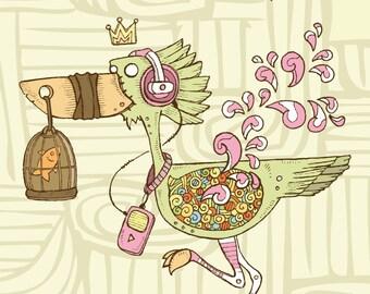 Livre de coloriage pour adultes Animaux fantastiques 1