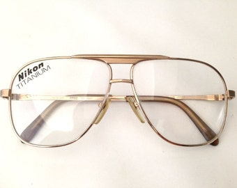 Titanium Eyeglass Frames Made In Japan : Titanium eyeglasses Etsy
