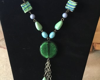 Trendy summer necklace