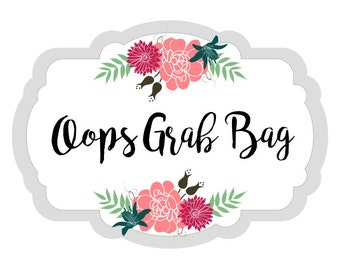 Oops Grab Bag | 10 sheets | matte planner stickers