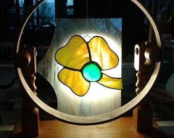 Stained Glass Shamrock Suncatcher