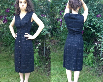 Vintage Tweed 1960's Wiggle Dress