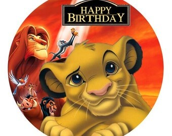 Lion king cake topper Etsy