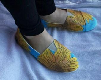 Shoes, Sunflower slip-on