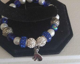 Zeta Phi Beta Bracelet