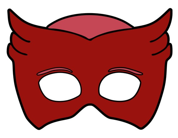 Pj Masks Masks Svg Files From Mamascontrolledchaos On