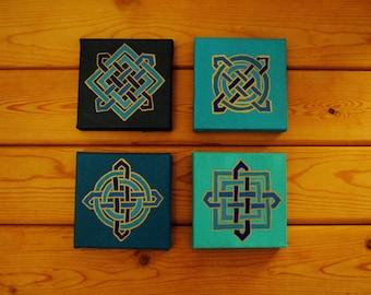 Celtic Knot Canvas Set