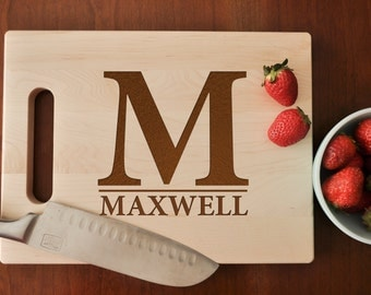 Personalized Cutting Board, Engraved Cutting Board, Custom Personalized Wedding Gift, Housewarming Gift, Anniversary Gift, Christmas Gift