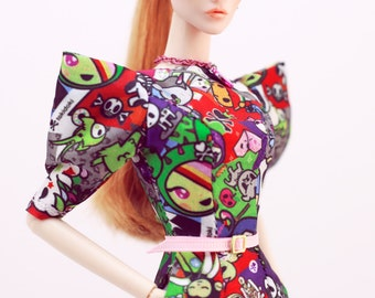 tokidokki dress for fashion royalty , Poppy Parker, Silkstone Barbie, fr2 , 12'' Fashion Doll