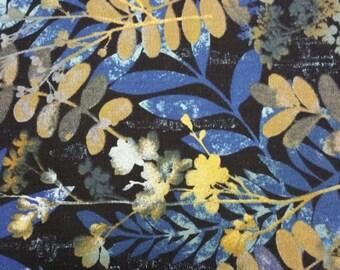 Batik-style Cotton - Layered Leaves