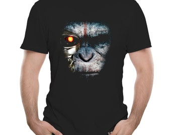 The Terminaper - Funny Terminator & Planet of the Apes Mashup T Shirt